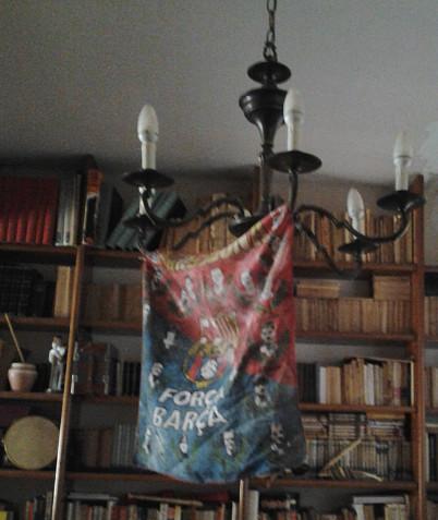 Força Barça. ¿En la casa de mi yaya?